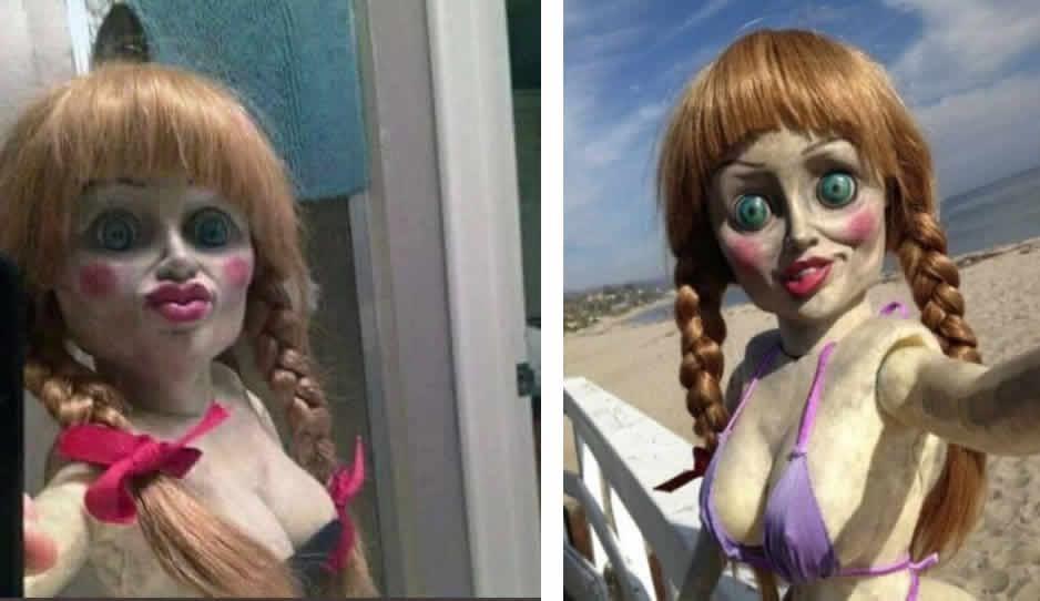 """Annabelle """"se escapó"""" de su vitrina; éstos son los MEMES"""