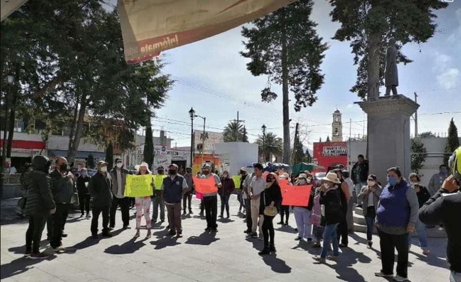 Vendedores de paca se manifiestan: piden que los dejen vender en El Seco