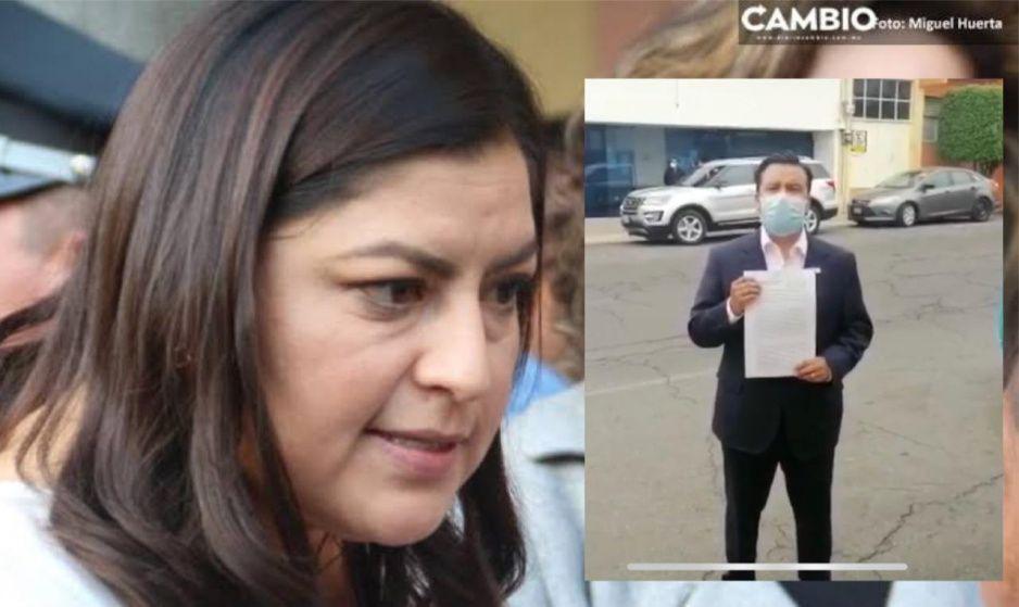 ¡Claudia no seas tranza! Denuncian a la presidenta ante la Fiscalía por corrupta (VIDEO)