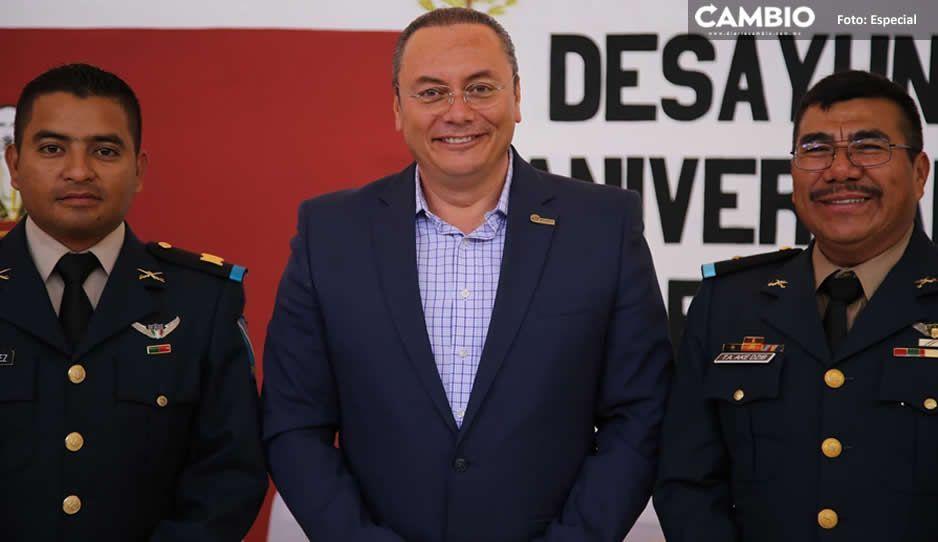 Gobierno de Atlixco continúa trabajando de la mano con el Ejército por la tranquilidad de las familias