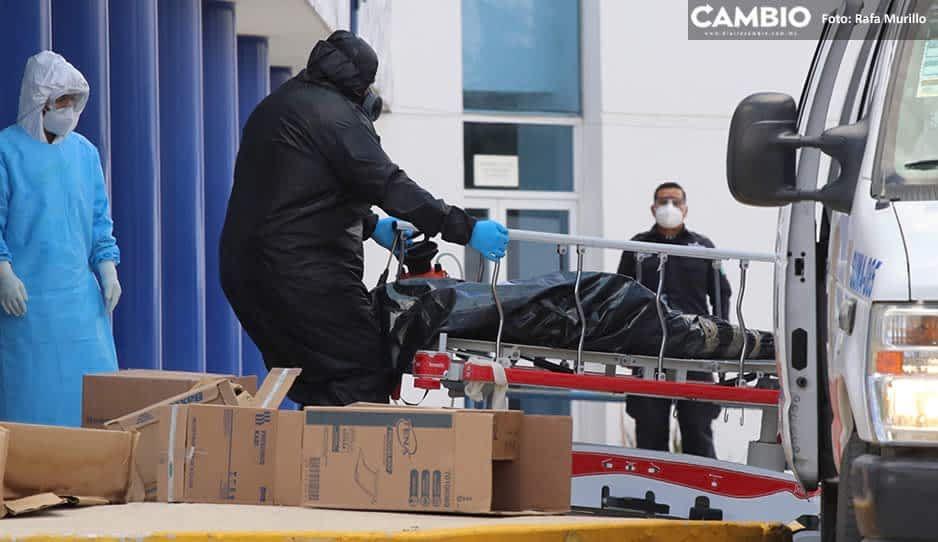 Puebla registra 23 mil 452 contagios y 2 mil 811 muertos en el día 150 de la pandemia