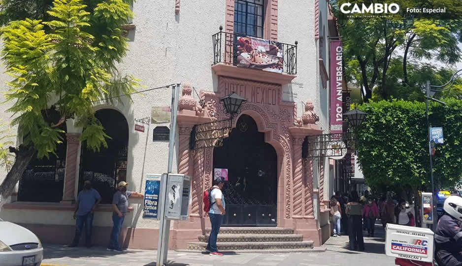 Gran Hotel México cierra sus puertas tras 122 años de dar servicio en Tehuacán