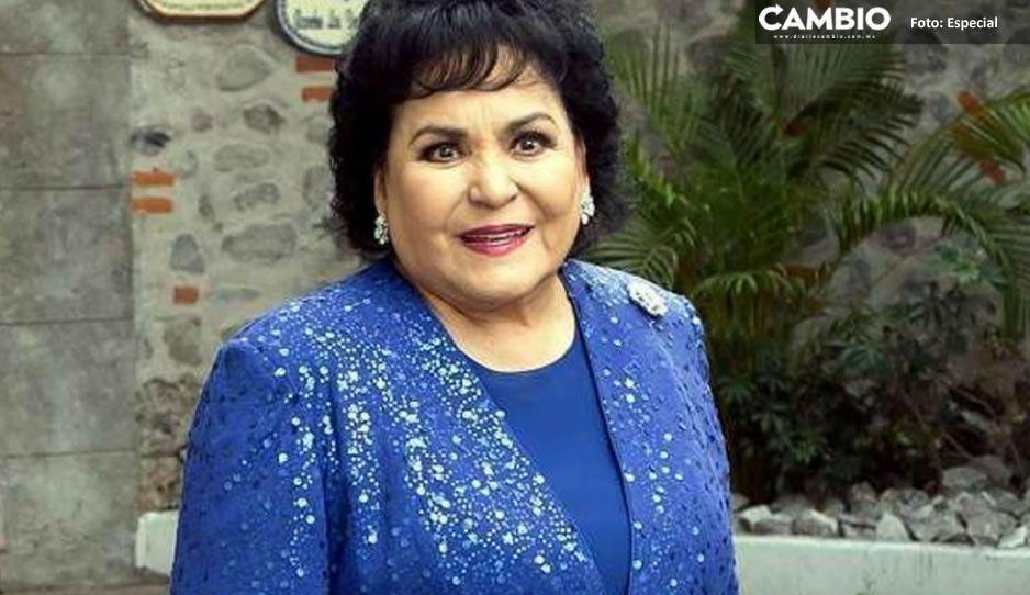 Carmen Salinas explota contra los que no creen en el Covid; se les va a meter por las nalgas, dijo