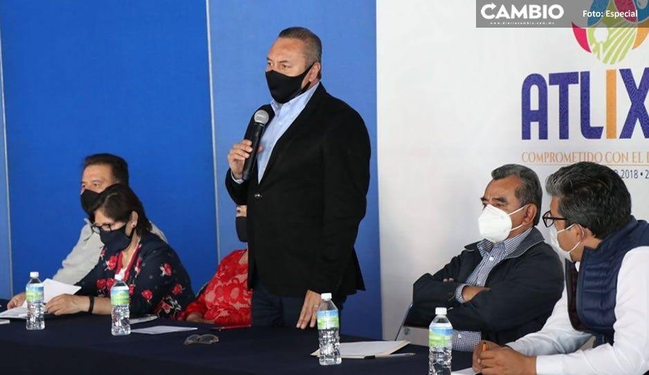 Guillermo Velázquez se reúne con autoridades auxiliares para priorizar obras en Atlixco