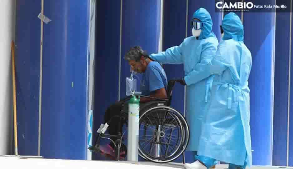 Mueren 7 de cada 10 pacientes graves por Covid en Puebla