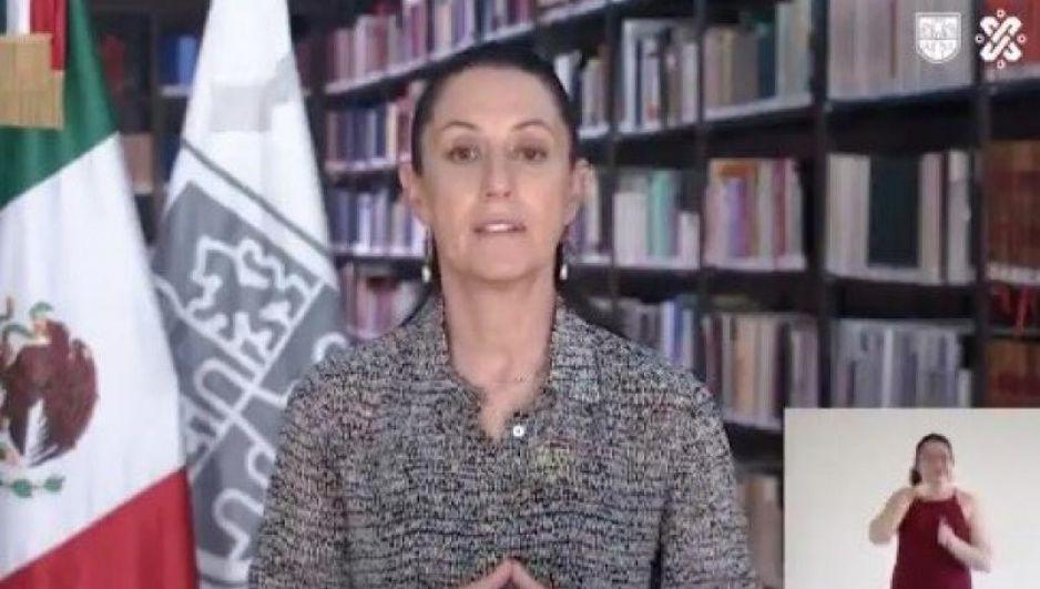 Por coronavirus, no es momento de hacer fiestas: Claudia Sheinbaum (VIDEO)