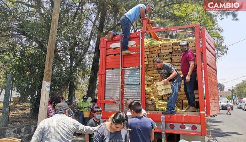 ¡Corazón de oro! Familia Ramos regala 48 toneladas de tomate en Atlixco para los más necesitados