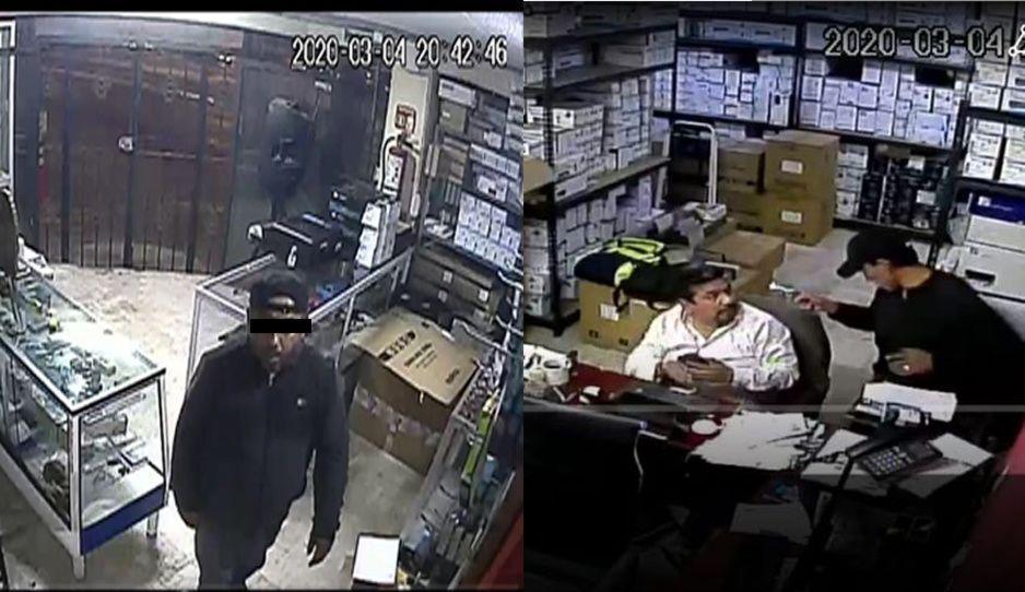 Encañonan y asaltan a empleados de Tinta&Toner en colonia Chulavista (VIDEO)