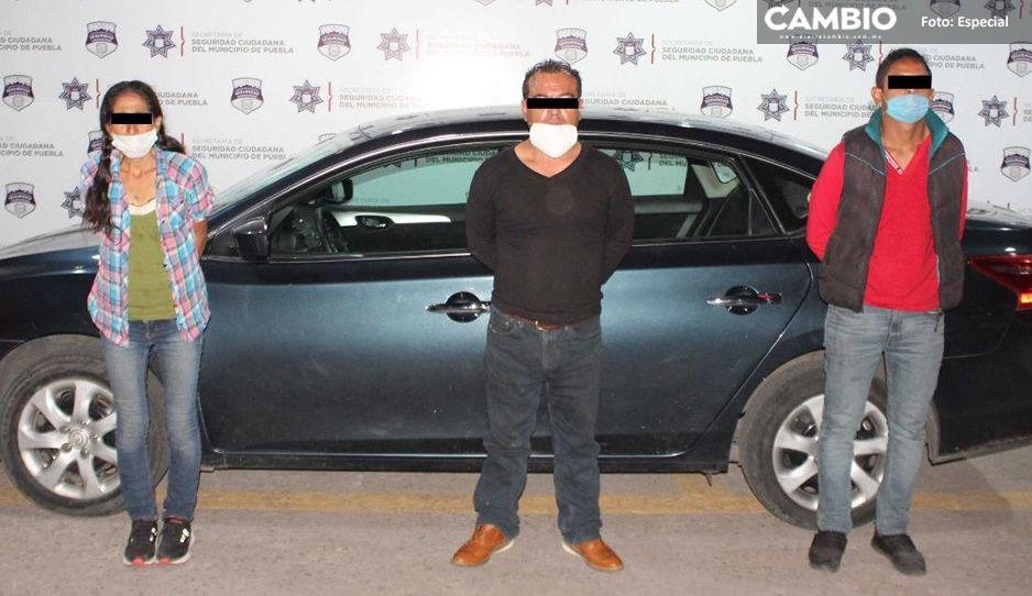 Detienen a delincuente dedicado a robar vehículos en Puebla, Chiapas, Oaxaca, Tlaxcala y Veracruz