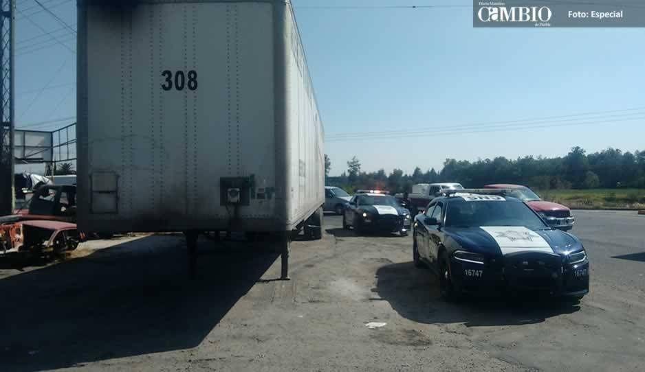 Policía Federal recupera caja con denuncia de robo y mercancía de Walmart