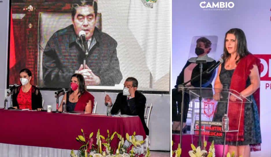 Norma Layón resalta logros en seguridad, atención a la pandemia y reordenamiento comercial en el Segundo Informe de Gobierno