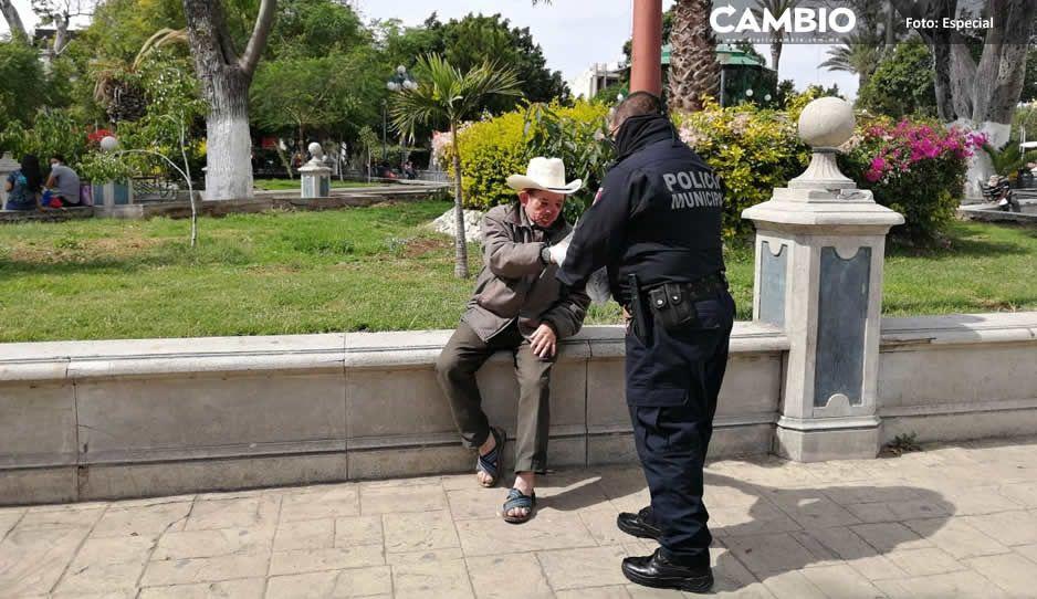 Avalan empresarios de Tehuacán la creación de Policía anticovid