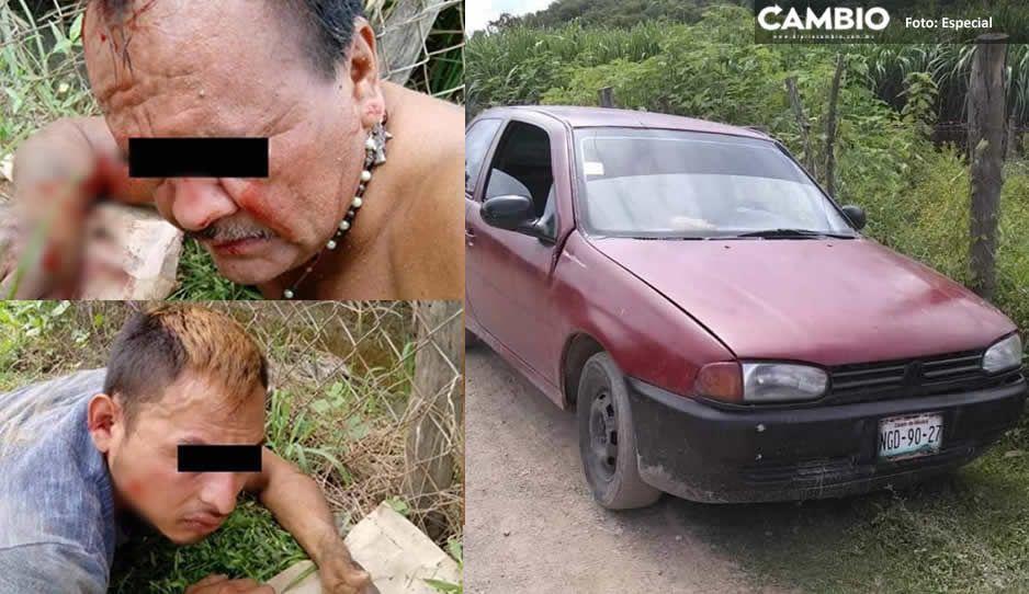 Detienen a dos hombres y una mujer por robo de ganado en Izúcar de Matamoros