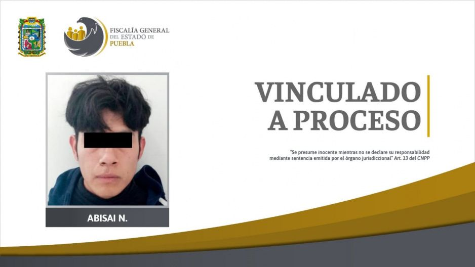 Fiscalía vincula a proceso a violador de un menor en San Miguel Xoxtla