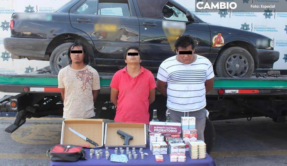 AsaltaOxxos provocan balacera en  La Guadalupana; huían en un taxi