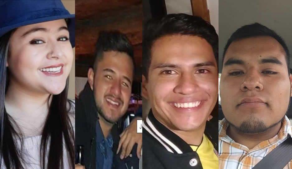 Estos son los estudiantes masacrados en Huejotzingo junto a chofer de Uber que vivieron un triste carnaval