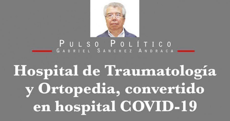 Hospital de Traumatología y Ortopedia, convertido en hospital COVID-19