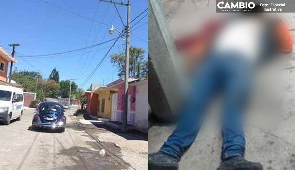 Ejecutan a balazos a un hombre de 40 años mientras bebía en un bar de Izúcar