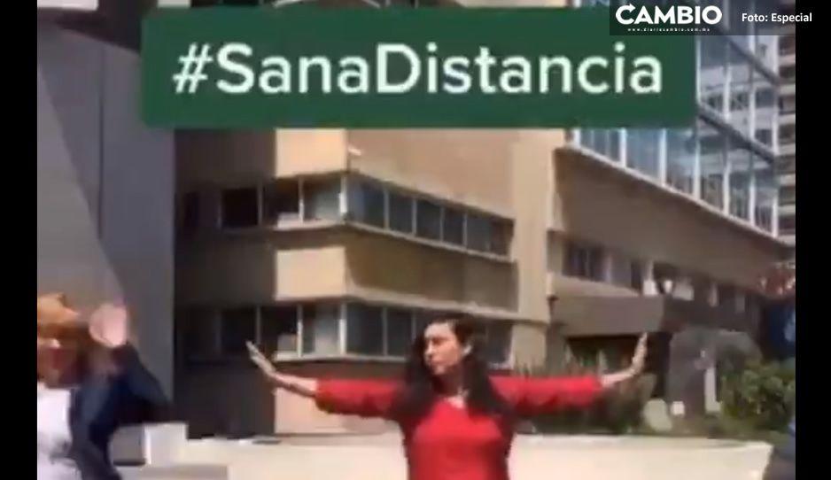 IMSS nunca deja de sorprender, lanza campaña #SusanaDistanciaChallenge