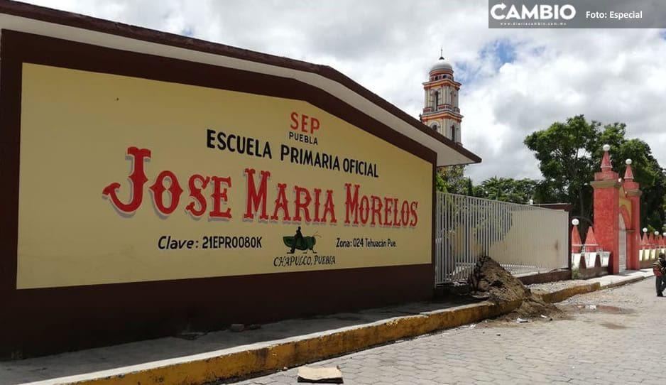 En Tehuacán imparable el robo a escuelas; intentan saquear tres instituciones