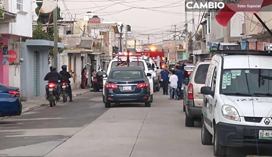 Aseguran a 15 personas, armas y  diferentes vehículos en Texmelucan