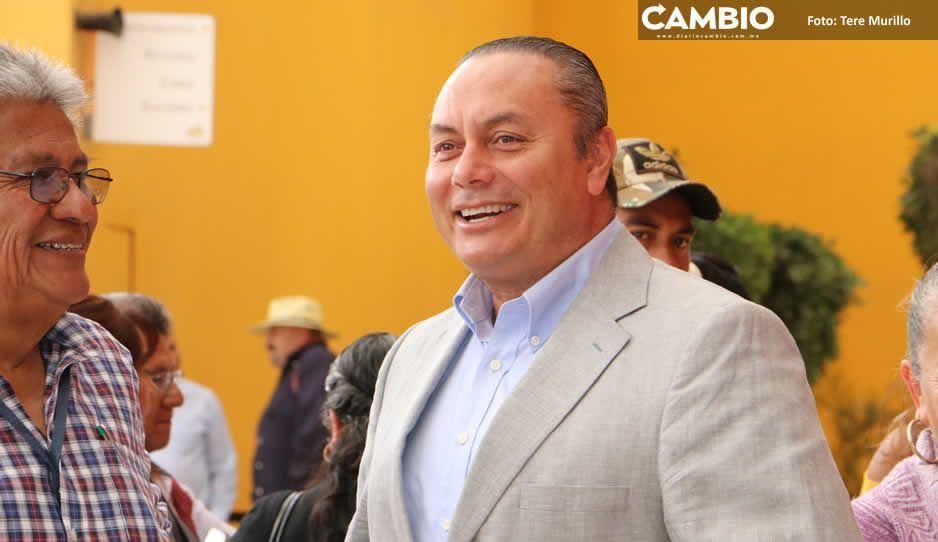 Memo Velázquez refrenda apoyo total  para trabajadores de Limpia en Atlixco