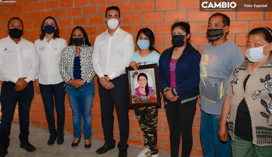 En Cuautlancingo, entregan la Primera casa del Programa Hacer Vivienda, Hacer Futuro