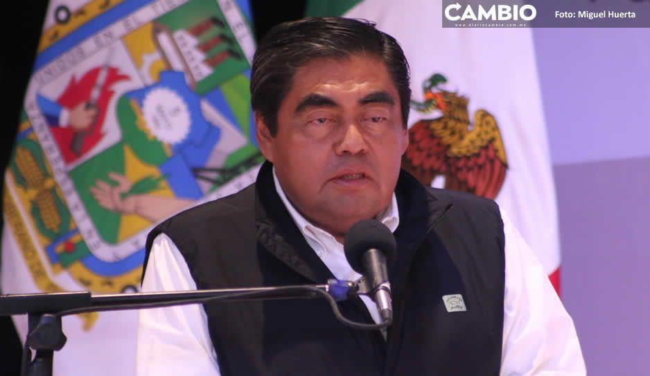 Barbosa confirma cambio de jefes policiacos en Amozoc, San Martín, C. Bonilla y Huejo