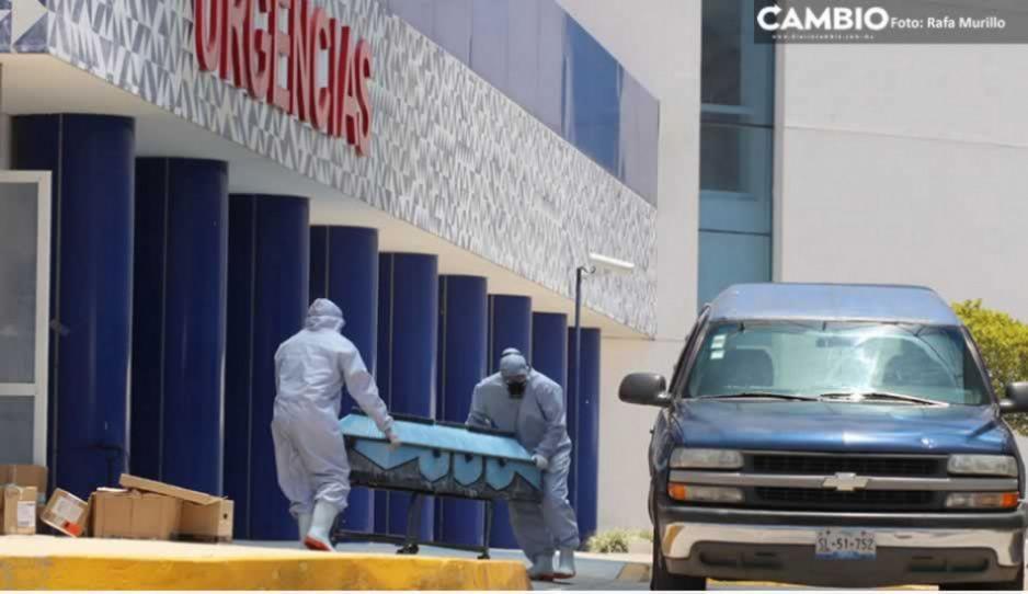 Aumenta COVID en Puebla: 9 muertos y 210 nuevos infectados