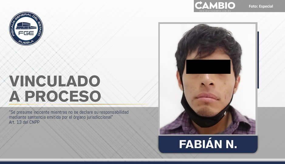 Detienen a  Fabián N por  abuso de menor  en Cholula