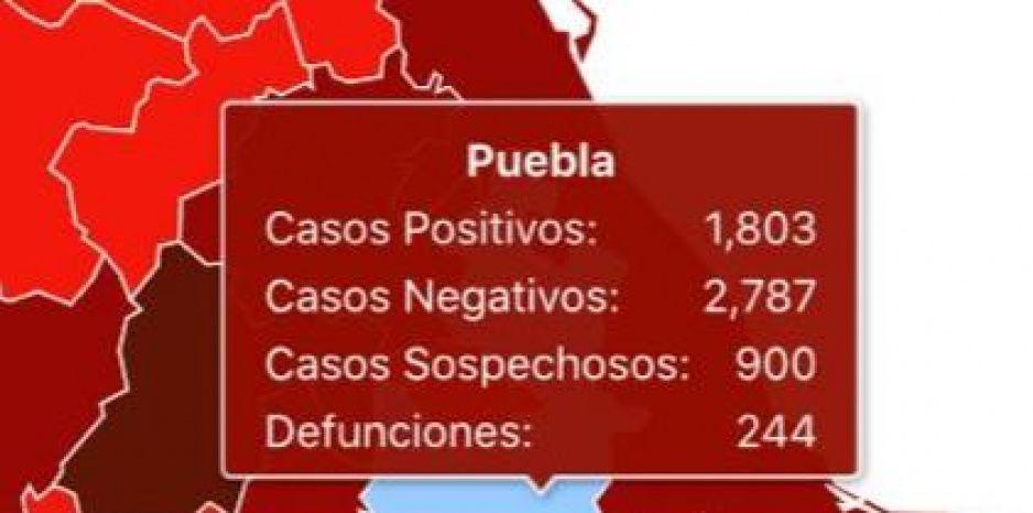Gobierno de AMLO esconde 91 muertos por Covid en Puebla: reporta 244 de 335 defunciones