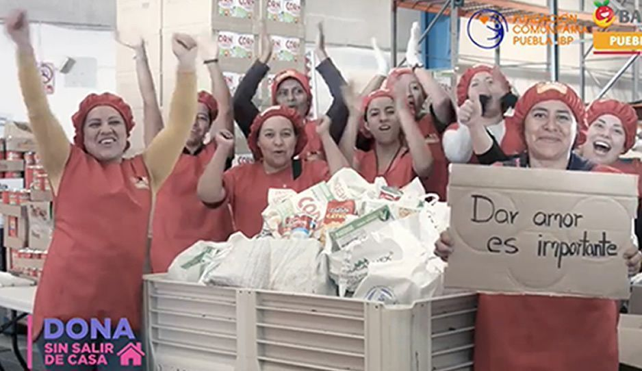 ¡A ayudar poblanos! Cáritas Puebla busca que los más necesitados no pasen hambre