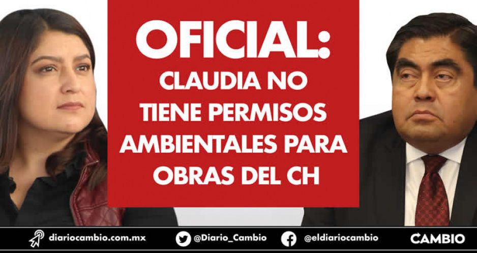 Oficial: Claudia no tiene permisos ambientales para obras del CH (VIDEO)