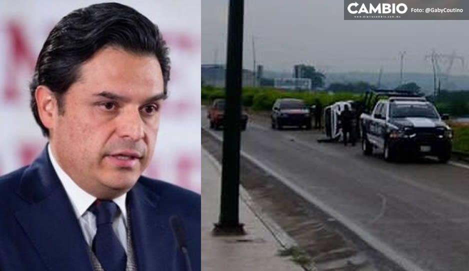 Choca Zoé Robledo en carretera de Tuxtla Gutiérrez y resulta con varias fracturas