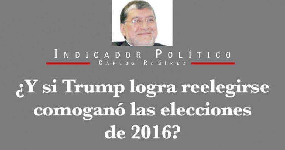 ¿Y si Trump logra reelegirse como ganó las elecciones de 2016?