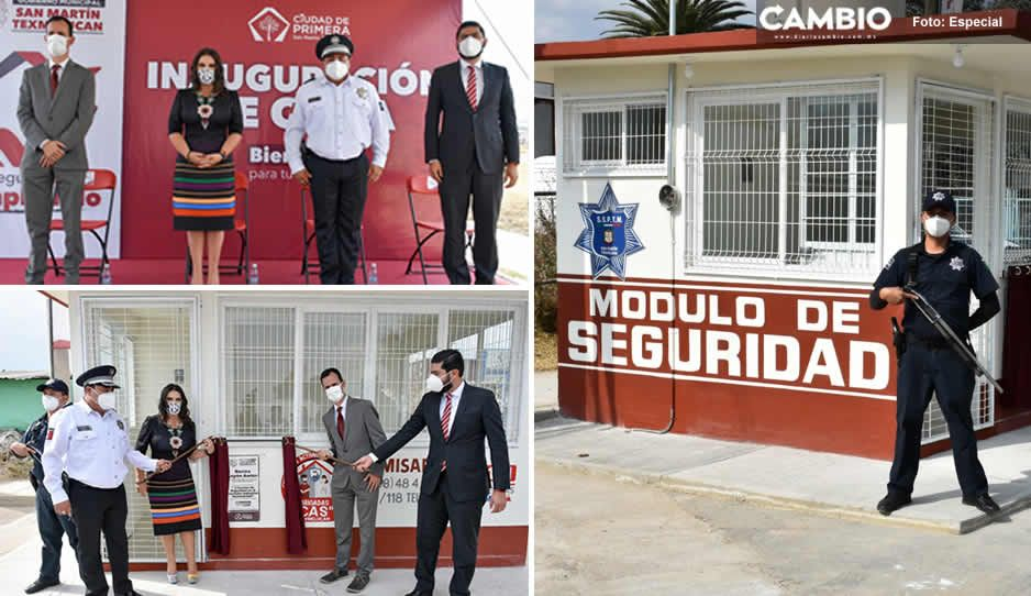 Norma Layón cumple compromiso de Seguridad Pública con el sector empresarial