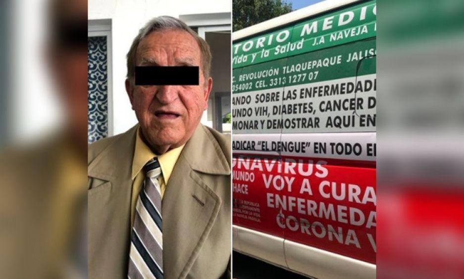 Medico farsante ofrece servicios para curar Conoravirus, cáncer y VIH