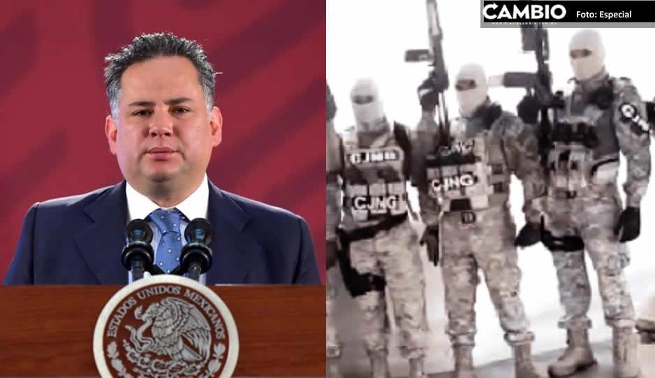Santiago Nieto tiene en la mira al CJNG, el Cártel del Pacífico y 17 cárteles más