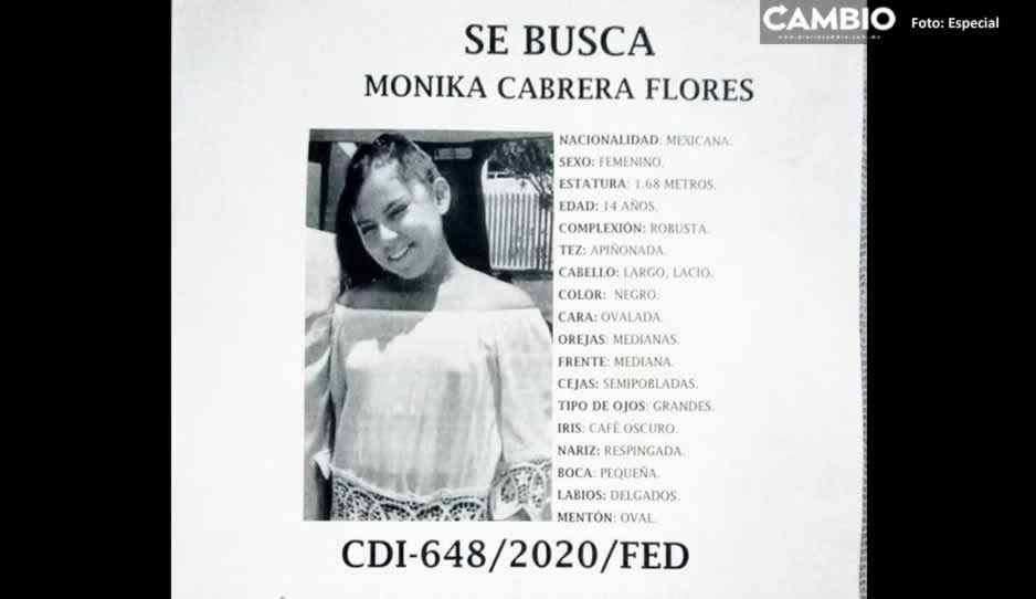 Desaparece Monika Cabrera de 14 años en la colonia Morelos ¡Ayuda a localizarla!
