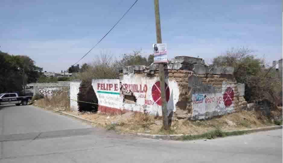 Muere alcohólico en casa abandonada de Amozoc