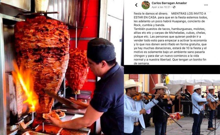 Poblanos sobrevivientes del Covid tendrán un Perro Panchangón en Xicotepec