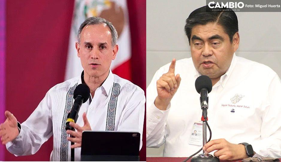 Reconoce López-Gatell a Barbosa por nuevocierre de actividades no esenciales