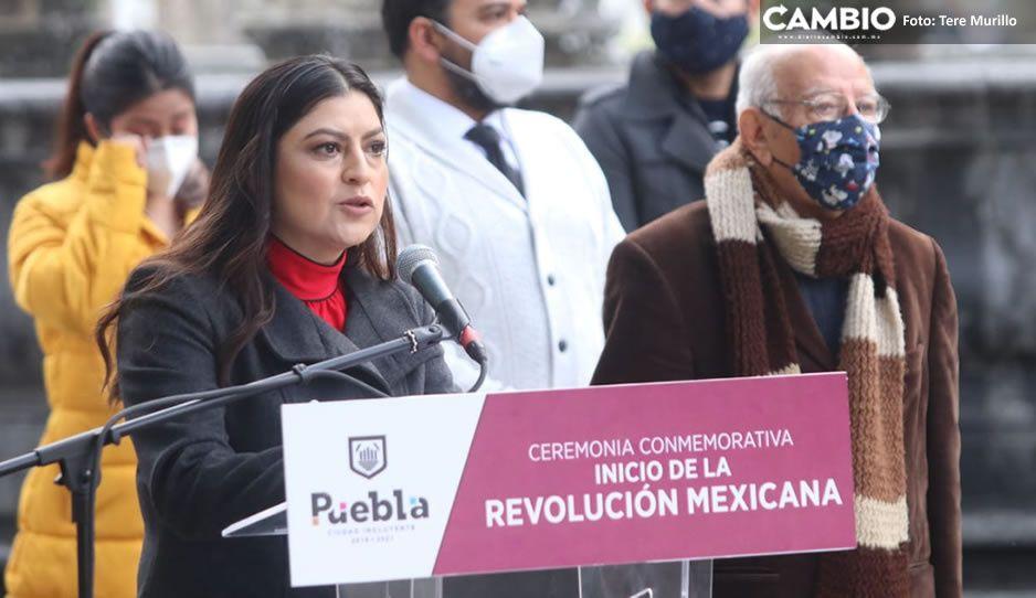 No tengo los permisos, los tiene el gobierno: Claudia sobre su obra 5 de Mayo  (VIDEO)