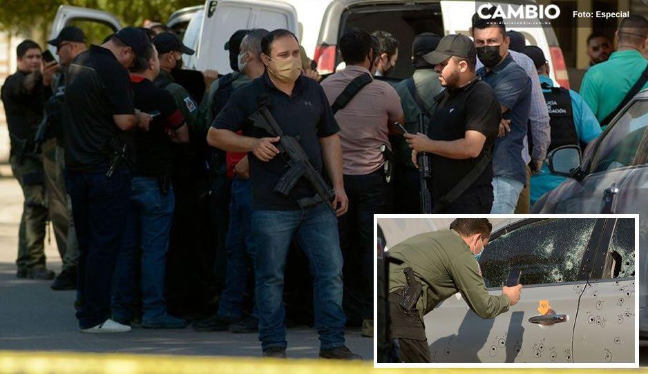 Sicarios emboscan a jefe de la Fiscalía de Sinaloa; lo encuentran con 150 casquillos de bala