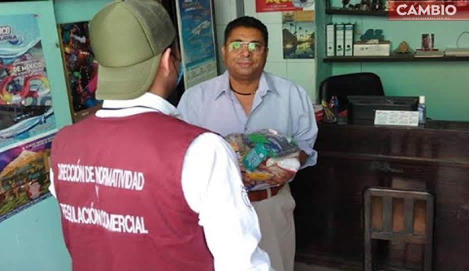 Redobla esfuerzos gobierno de San Pedro Cholula ante fase 3 de Covid-19