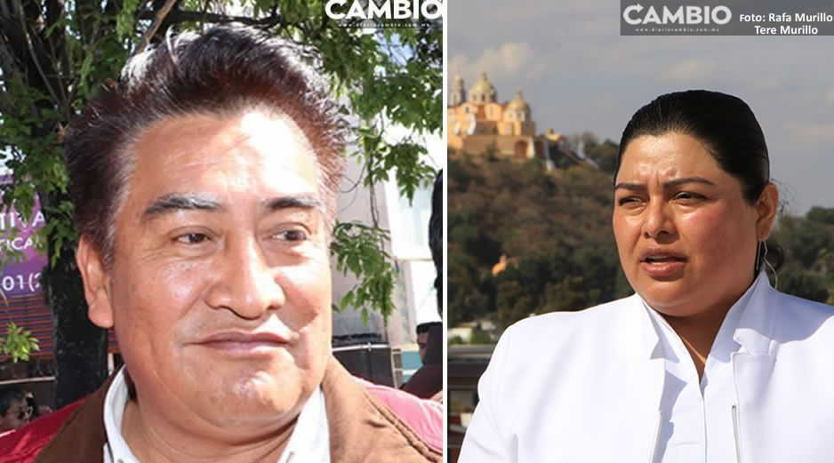Karina vs Josué Xicale: no dejaré mi cargo, es mi derecho seguir al frente de San Andrés Cholula