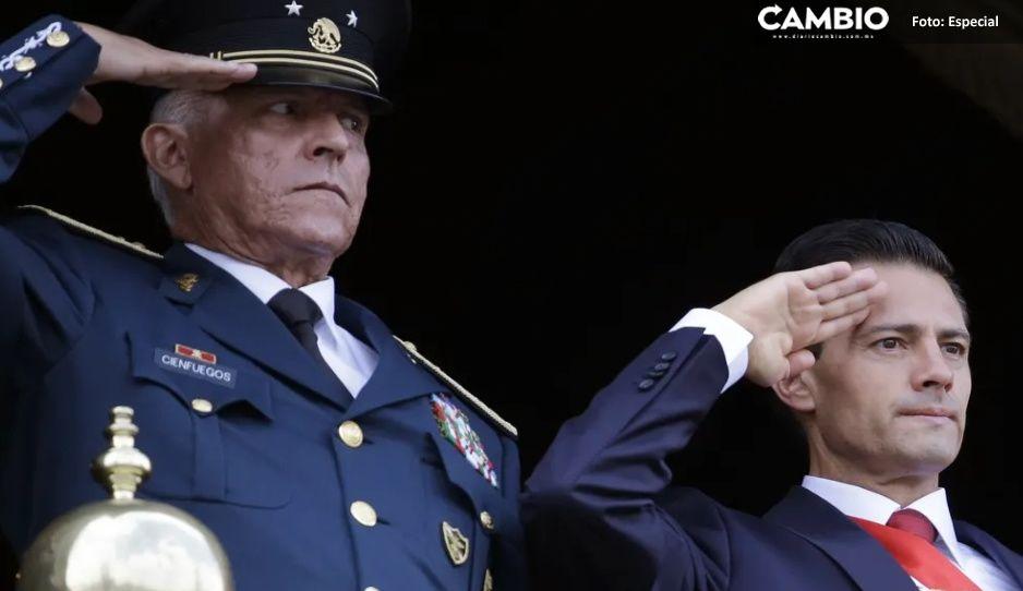 ¡Tiembla Peña Nieto! Estados Unidos le imputa cinco cargos por narco a Cienfuegos