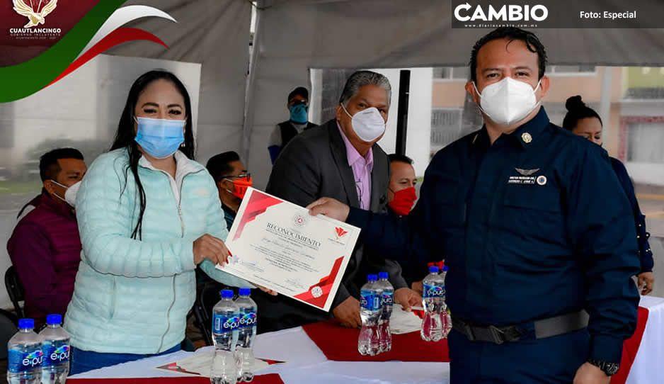 Conmemoran en Cuautlancingo  Día Nacional de Protección Civil