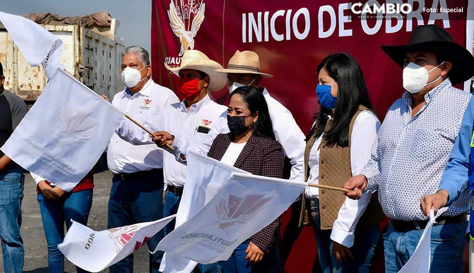 ¡Palabra cumplida! Lupita Daniel arranca obras de beneficio social