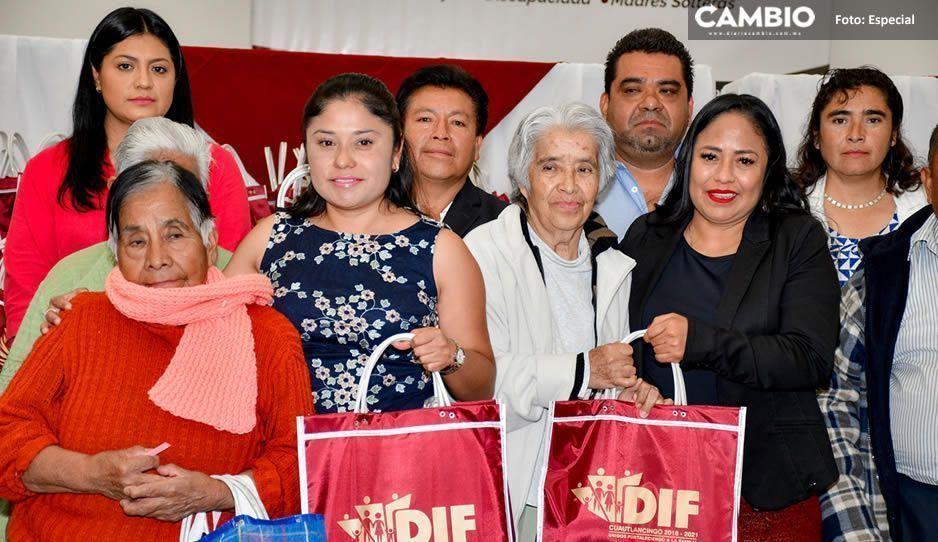 Ayuntamiento de Cuautlancingo realiza primera entrega de Despensas Internas en beneficio de mil 800 personas